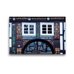 Premium Textil-Leinwand 45 cm x 30 cm quer Das Doktorhaus in Blo