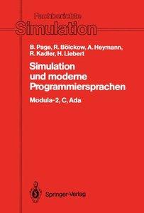 Simulation und moderne Programmiersprachen