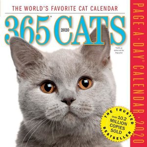 Cat 2020 Page-A-Day Gallery Calendar