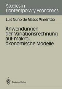 Anwendungen der Variationsrechnung auf makroökonomische Modelle