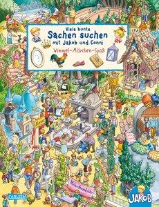 Viele bunte Sachen suchen mit Jakob und Conni: Wimmel-Märchen-Sp