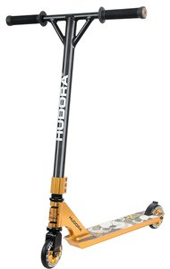 Hudora 14027 - Stunt-Scooter XR-25 gold - Freestyle Tretroller