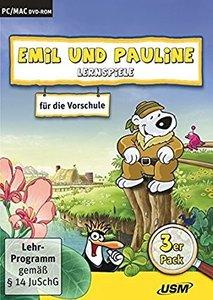 Emil und Pauline 1. 3er Box - Lernspiele für die Vorschule