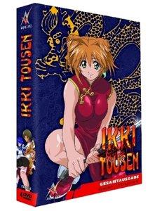 Ikki Tousen - Dragon Girls, 4 DVDs, (Slimpackbox)