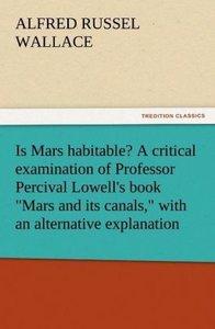 Is Mars habitable? A critical examination of Professor Percival
