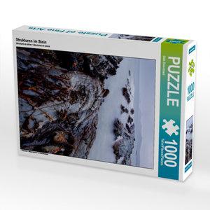Strukturen im Stein 1000 Teile Puzzle hoch