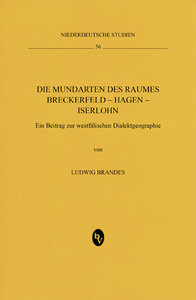 Die Mundarten des Raumes Breckerfeld - Hagen - Iserlohn