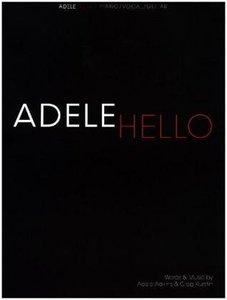 Adele: Hello (Piano Vocal Guitar Sheet Music)
