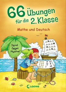 Loewe 66 Übungen 2.Klasse-Mathe/Deutsch