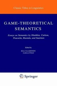 Game-Theoretical Semantics