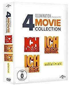 Ich - Einfach unverbesserlich 1-3 & Minions, 4 DVDs
