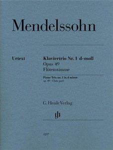 Klaviertrio Nr. 1 op. 49 Flötenstimme