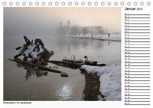Grüß Gott am Königssee (Tischkalender 2019 DIN A5 quer)