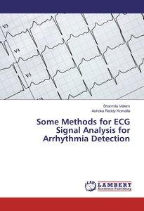 Some Methods for ECG Signal Analysis for Arrhythmia Detection