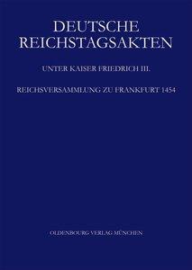 Reichsversammlung zu Frankfurt 1454