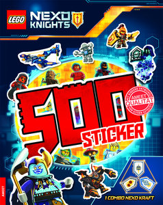 LEGO® NEXO KNIGHTS(TM). 500 Sticker