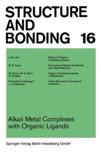 Alkali Metal Complexes with Organic Ligands