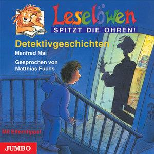 Leselöwen spitzt die Ohren. Detektivgeschichten. CD