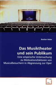Das Musiktheater und sein Publikum