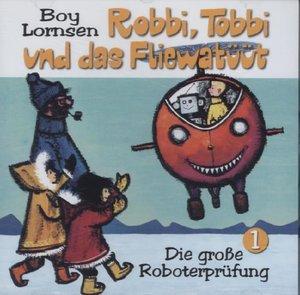 Die große Roboterprüfung, 1 Audio-CD
