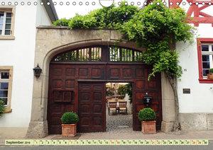 Kunstvolle Tore alter Weingüter (Wandkalender 2019 DIN A4 quer)