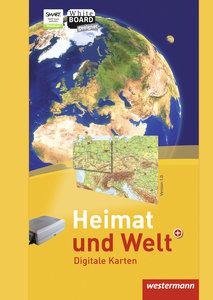 Heimat und Welt Weltatlas. Digitale Wandkarten. CD-ROM
