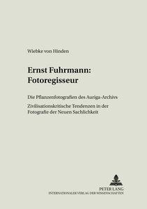 Ernst Fuhrmann: Fotoregisseur