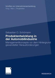 Produktentwicklung in der Automobilindustrie