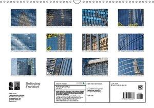 Reflecting Frankfurt (Wandkalender 2019 DIN A3 quer)