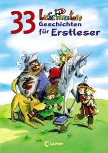 33 Lesepiraten-Geschichten für Erstleser
