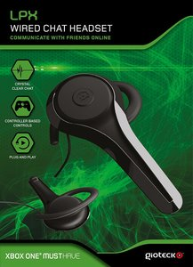 LPX - Wired Chat Headset - Xbox One