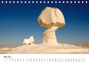 WEISSE WÜSTE Der Skulpturenpark (Tischkalender 2020 DIN A5 quer)