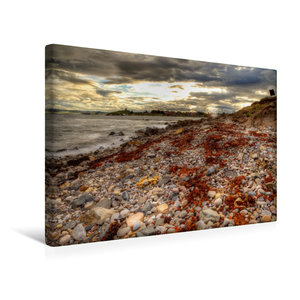 Premium Textil-Leinwand 45 cm x 30 cm quer Nordküste