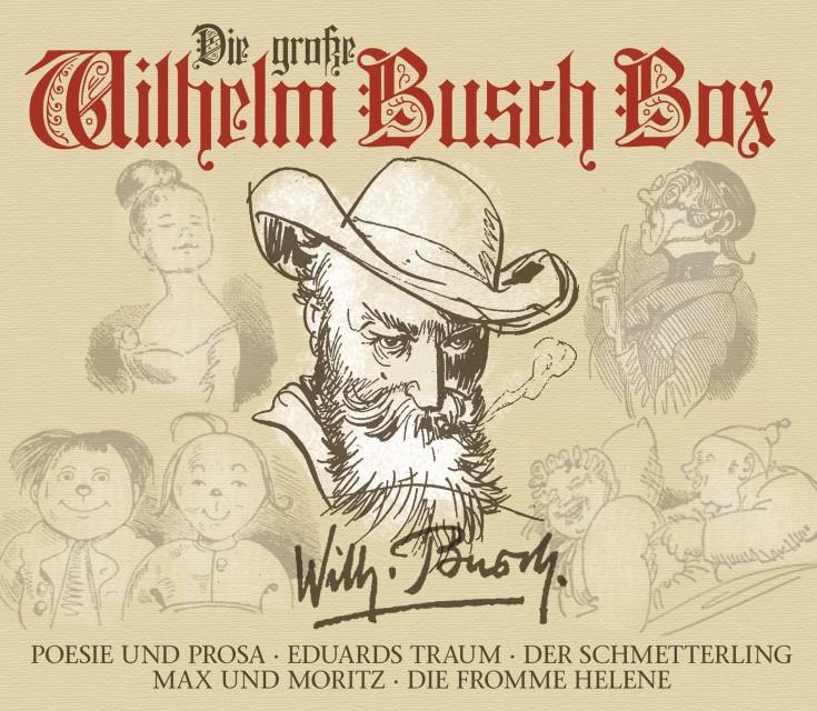 Die große Wilhelm Busch Box - zum Schließen ins Bild klicken