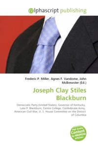 Joseph Clay Stiles Blackburn