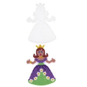 Hama 258 - Stiftplatte: Prinzessin Weiß, 13 cm hoch