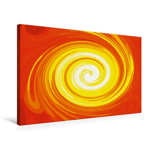 Premium Textil-Leinwand 75 cm x 50 cm quer Energie