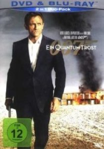 James Bond 007 - Ein Quantum Trost (inkl. DVD)