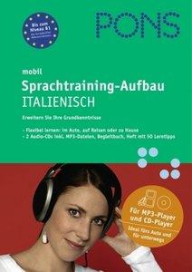PONS mobil Sprachtraining - Aufbau Italienisch. 2 CDs