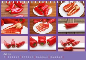 Food / CH-Version (Tischkalender 2019 DIN A5 quer)