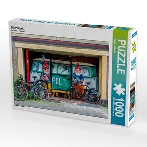 Die Polizei... 1000 Teile Puzzle quer