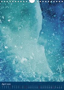 Eiskunst (Wandkalender 2020 DIN A4 hoch)