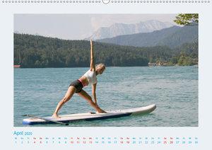 Faszination Yoga - SUP (Wandkalender 2020 DIN A2 quer)