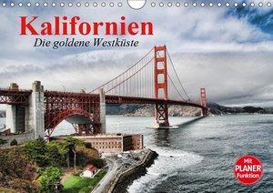 Kalifornien. Die goldene Westküste (Wandkalender 2019 DIN A4 que
