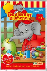 Benjamin Blümchen - Das besondere Osterei, 1 Cassette