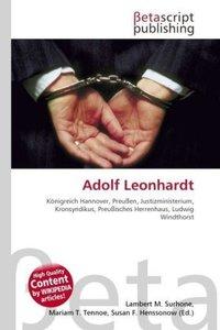 Adolf Leonhardt