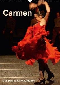 Carmen, Compagnie Antonio Gadès (Calendrier mural 2015 DIN A3 ve