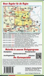 Cottbus, Peitzer Teiche und Umgebung 1 : 35 000. Radwander- und
