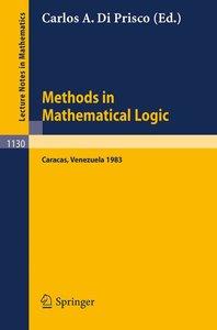Methods in Mathematical Logic