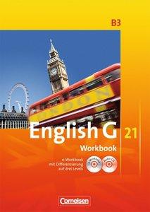 English G 21 - Ausgabe B 3. 7. Schuljahr. Workbook mit CD-ROM (e